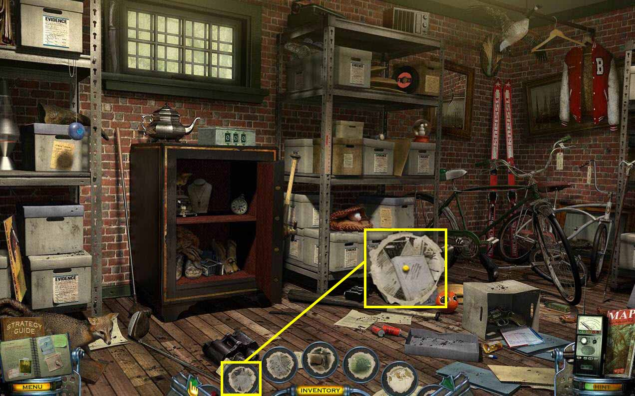 Mystery Case Files: Shadow Lake Walkthrough: Evidence Drawing