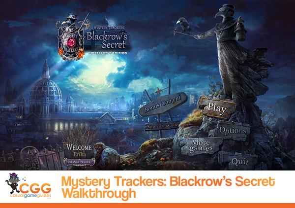 Mystery Trackers Blackrow Secret Walkthrough
