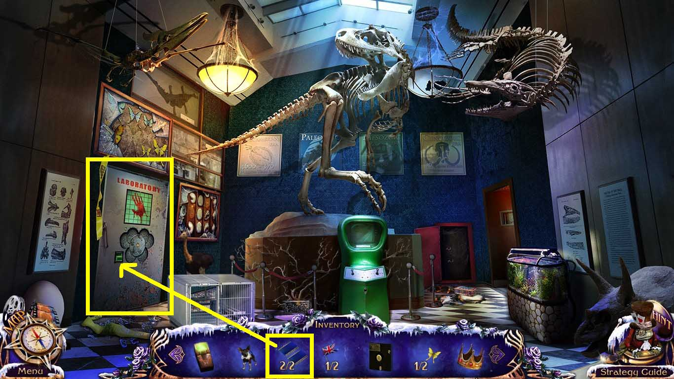 Mystery Trackers The Four Aces Walkthrough Chapter Six Enter into the Museum Off