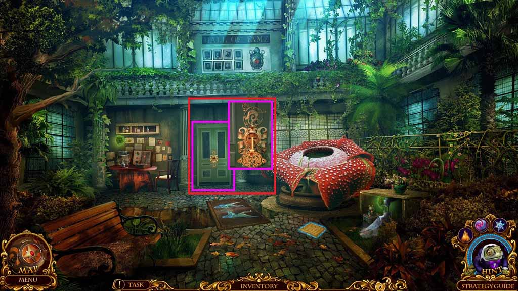 Mystery Trackers: Silent Hollow Walkthrough: Glasshouse