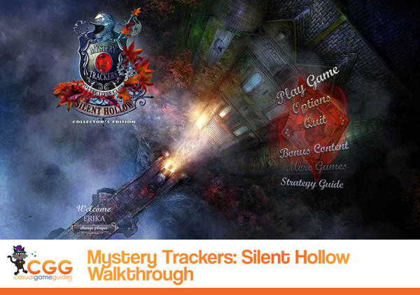 Mystery Trackers Silent Hollow Walkthrough