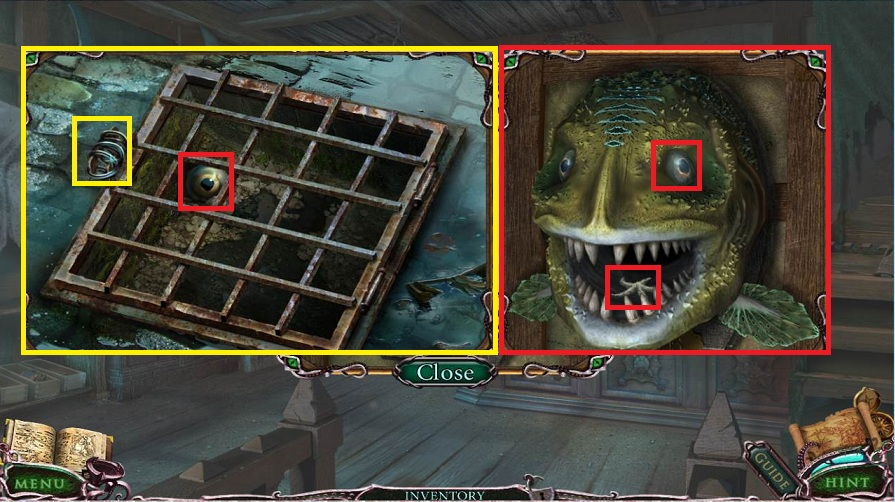 Mystery Of The Ancients: Curse of the Black Water Walkthrough: Fish Eye