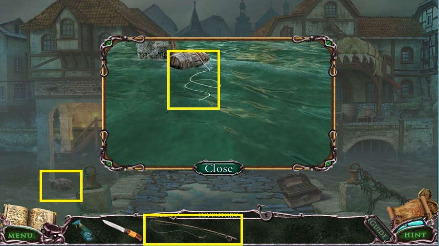Mystery Of The Ancients: Curse of the Black Water Walkthrough: Fishing Rod