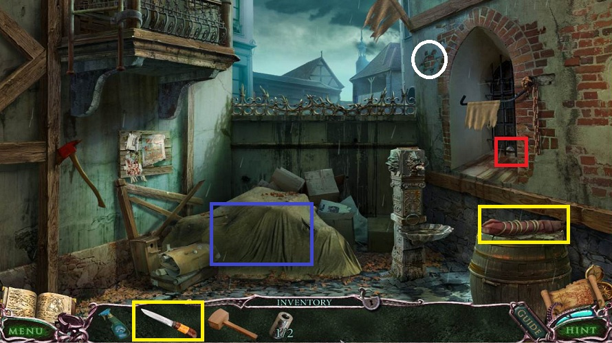 Mystery Of The Ancients: Curse of the Black Water Walkthrough: Light Bulb