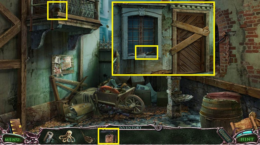 Mystery Of The Ancients: Curse of the Black Water Walkthrough: Fire Escape