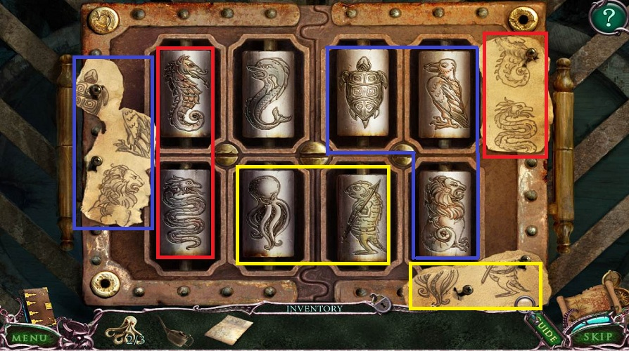 Mystery Of The Ancients: Curse of the Black Water Walkthrough: Cylinder puzzle