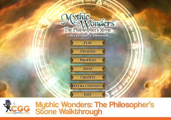 Mythic Wonders Walkthrough