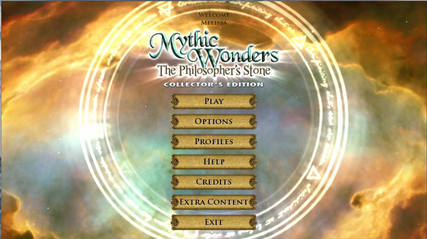 Mythic Wonders Title