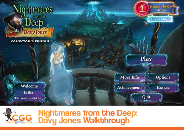 Nightmares from the Deep Walkthrough
