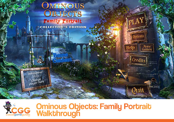 Ominous Objects Walkthrough