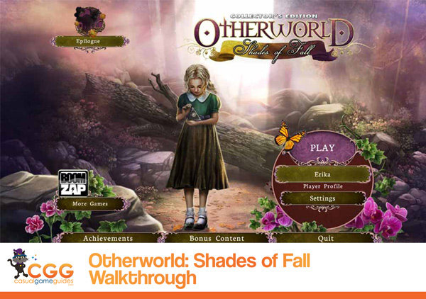 Otherworld Walkthrough