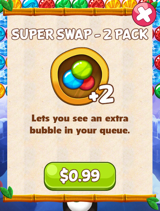 Super Swap How To Get More Lives In Panda Pop