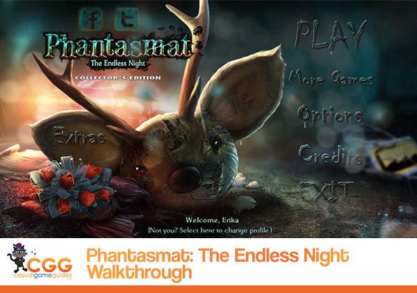 Phantasmat Endless Night Walkthrough