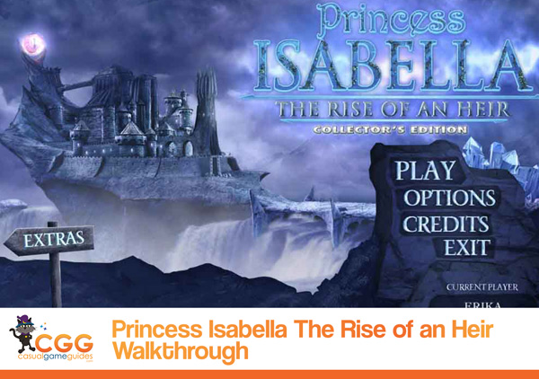 Princess Isabella Walkthrough
