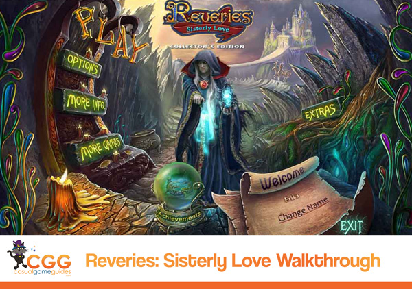 Reveries Walkthrough