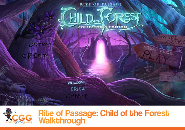 Rite of Passage Walkthrough