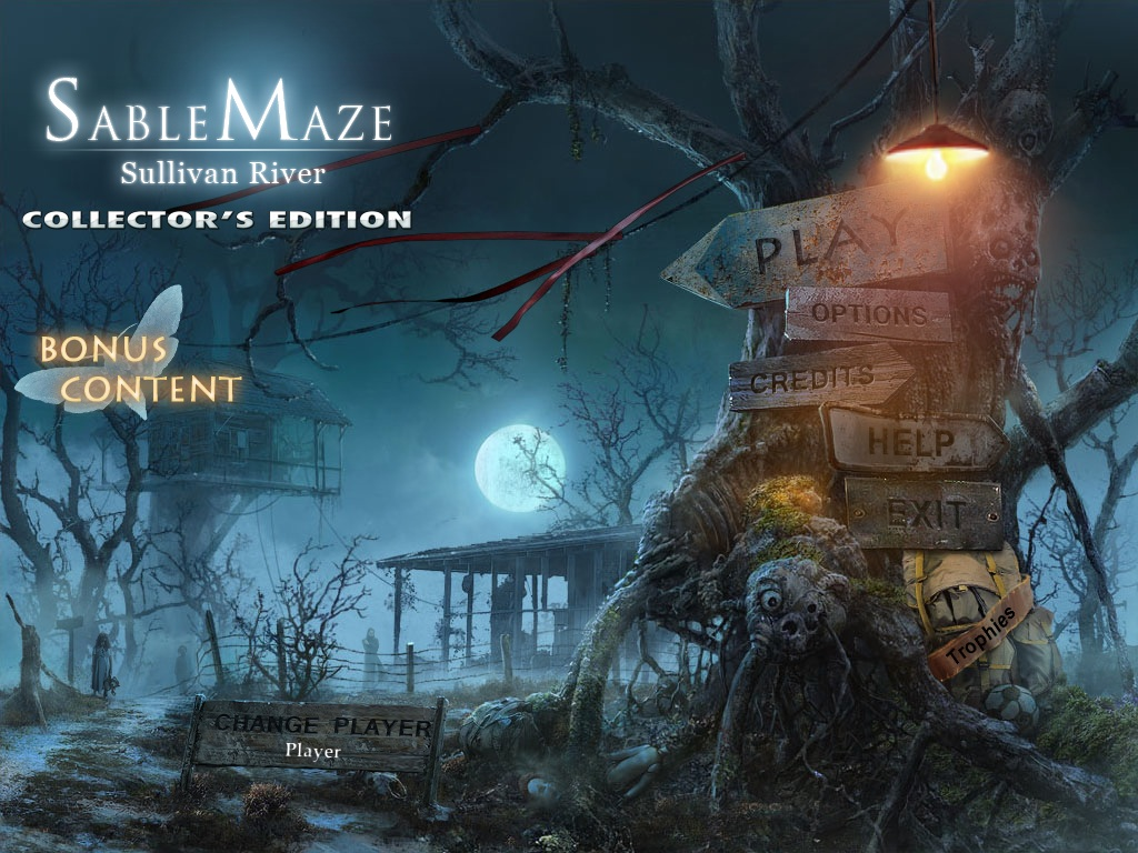 Sable Maze: Sullivan River Walkthrough: Title Screen
