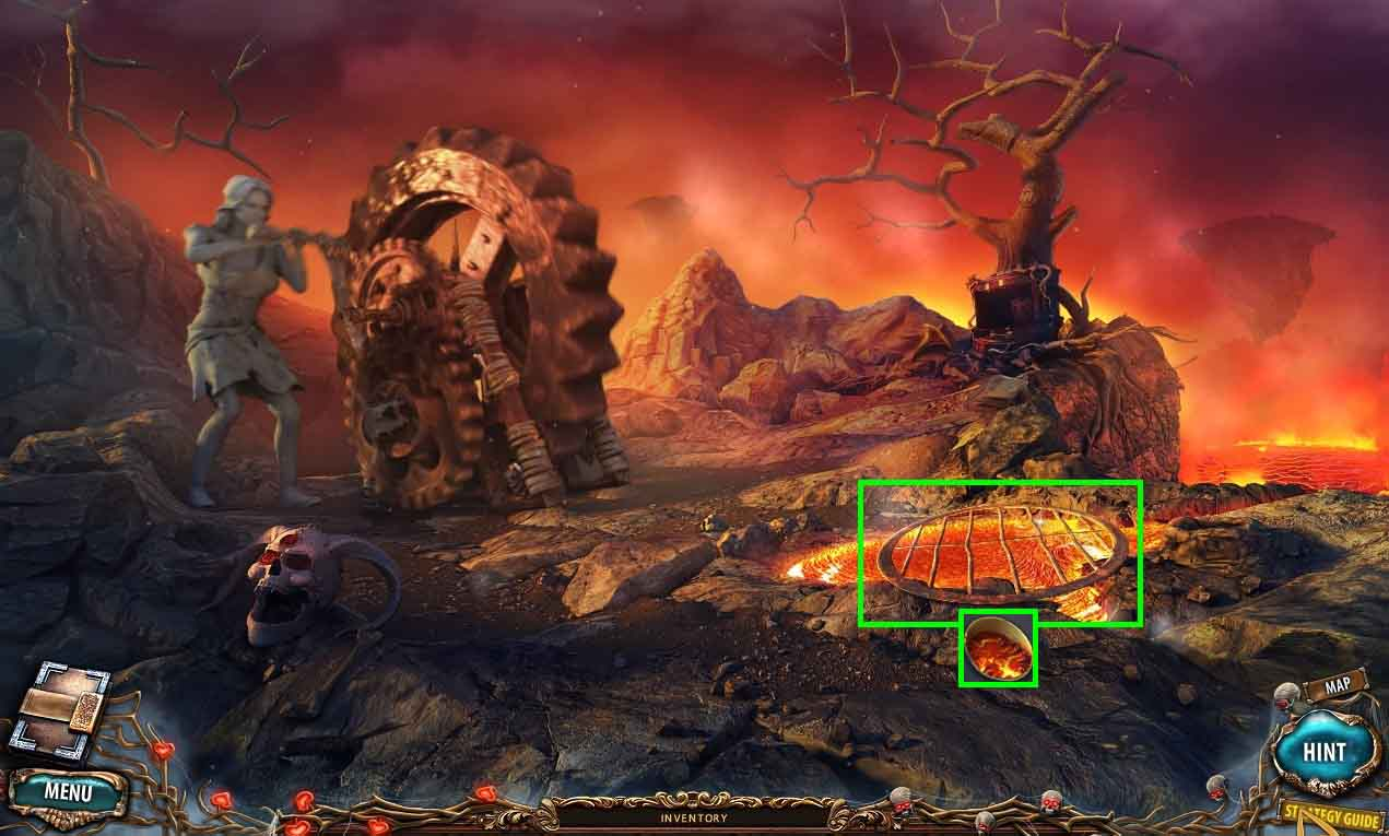 Sacra Terra: Kiss of Death Walkthrough: Lava