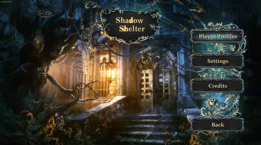 Shadow Shelter Walkthrough: Title Screen