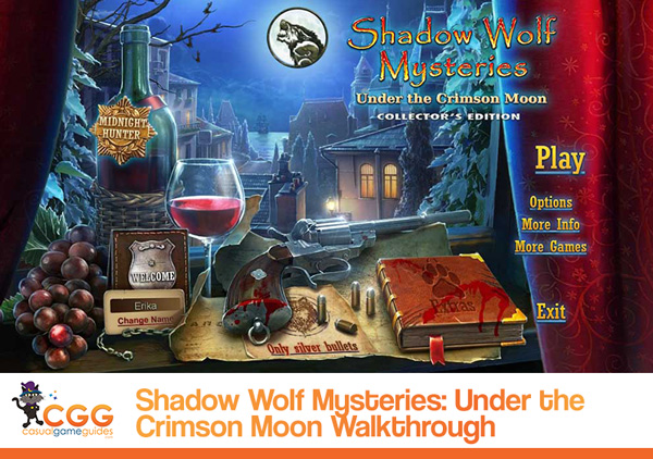 Shadow Wolf Mysteries Walkthrough
