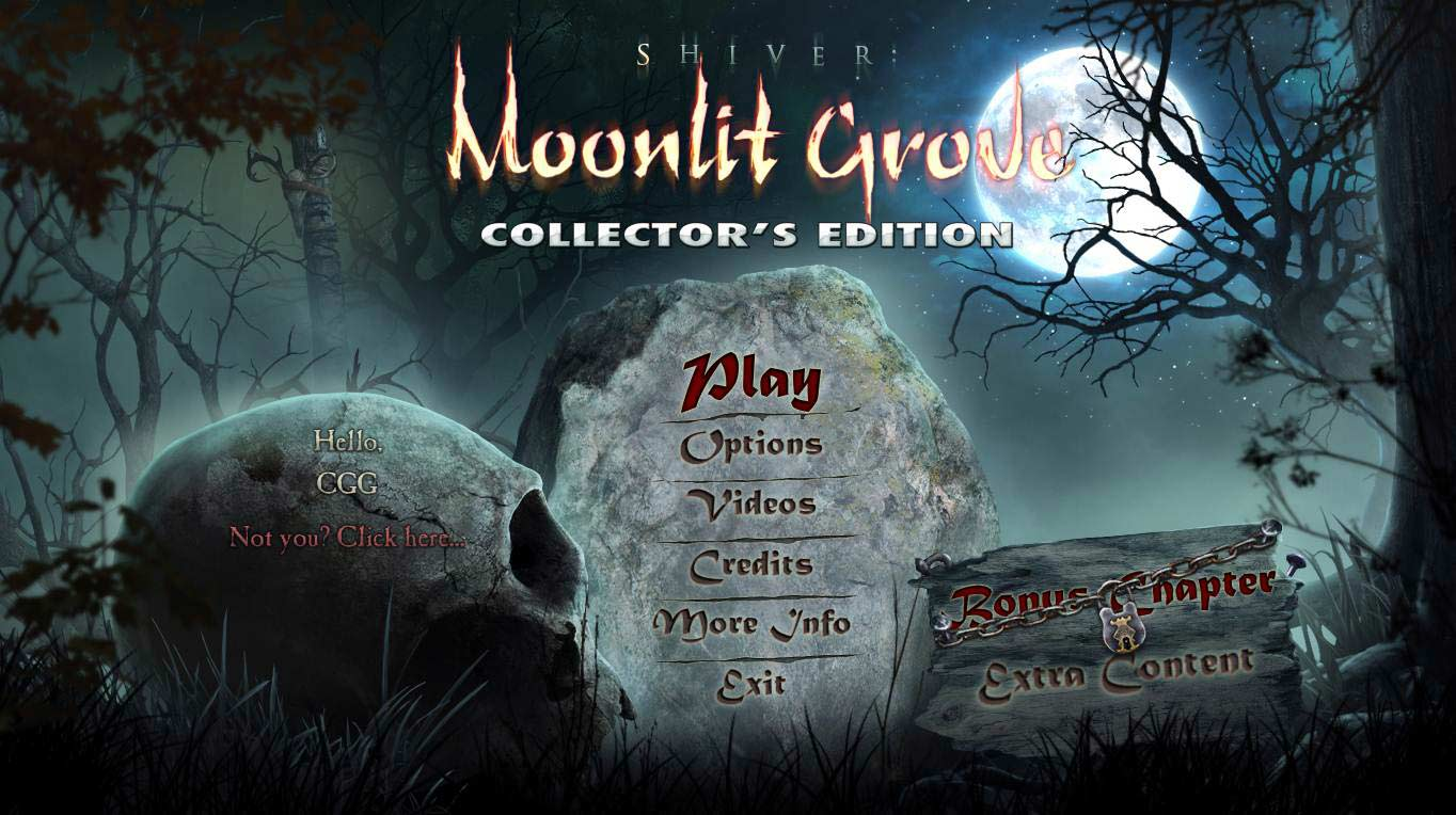 Shiver: Moonlit Grove Walkthrough: Title Screen