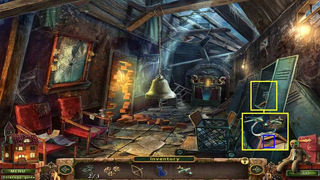 Stray Souls: Stolen Memories Walkthrough: Locker