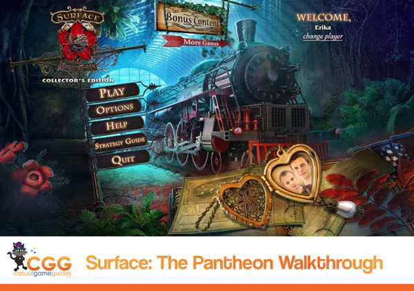 Surface The Pantheon Walkthrough