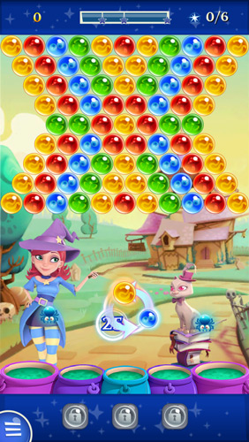 Bubble Witch Saga 2 Board