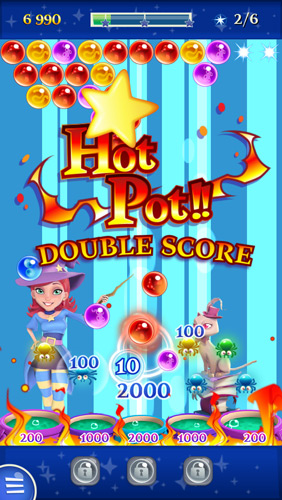 Bubble Witch Saga 2 Hot Pot