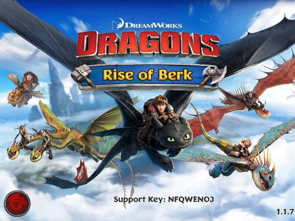 Dragons Rise of Berk Title