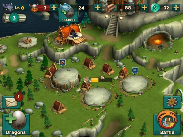 Dragons Rise of Berk Village