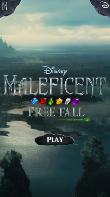 Maleficent Free Fall Title
