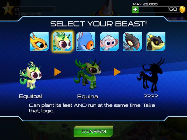 Outernauts Monster Battle Creatures
