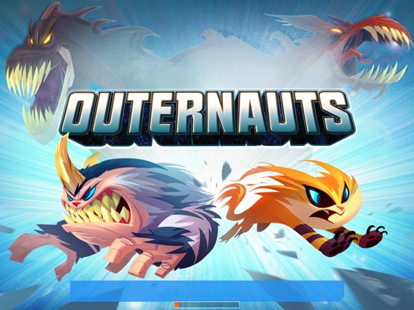 Outernauts Monster Battle Title