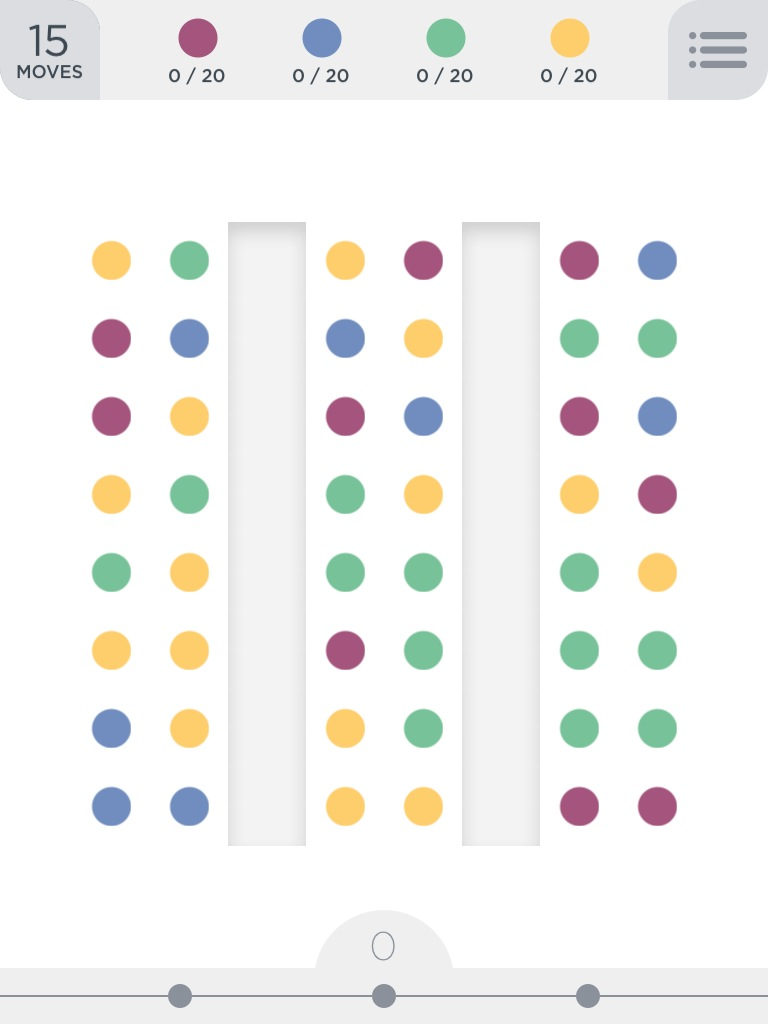 Two Dots Puzzle Board