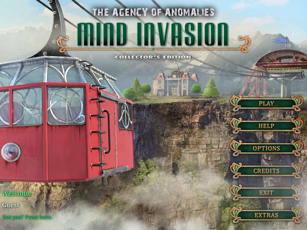 The Agency of Anomalies: Mind Invasion Walkthrough: Title