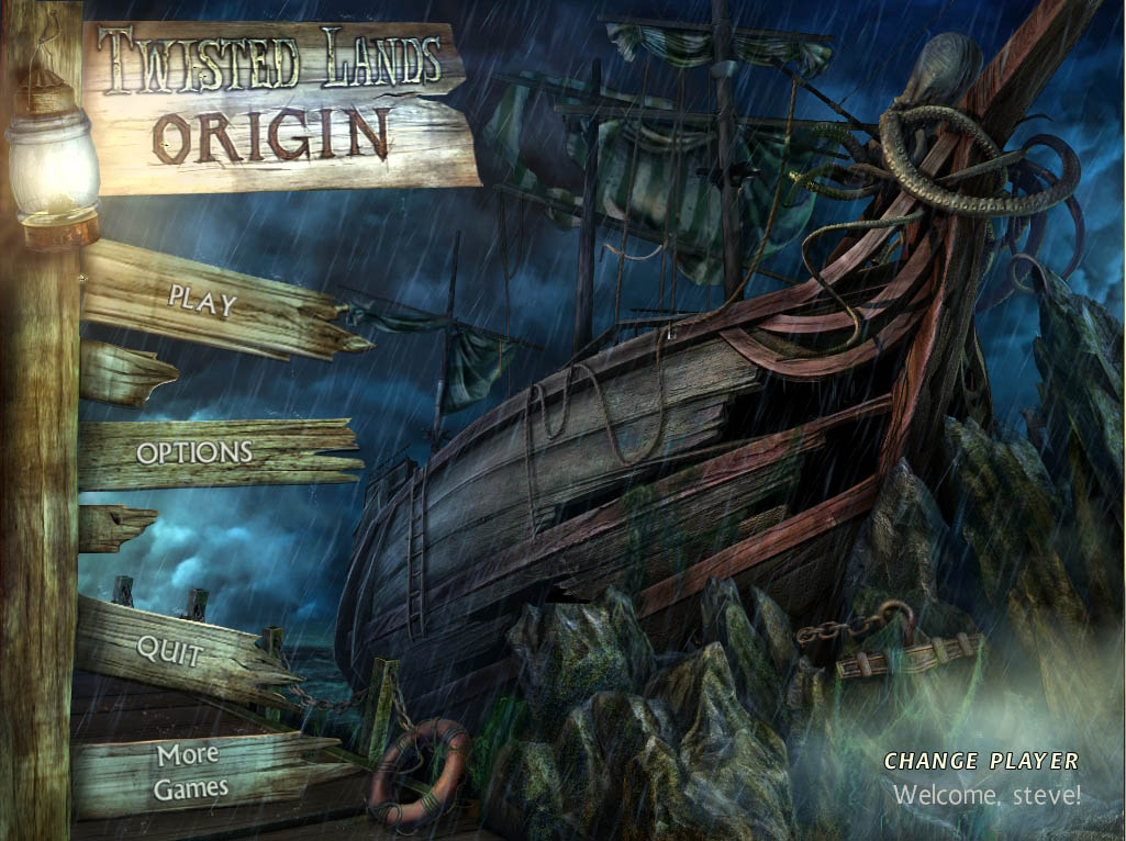 Twisted Lands Origin Walkthrough Title Screen