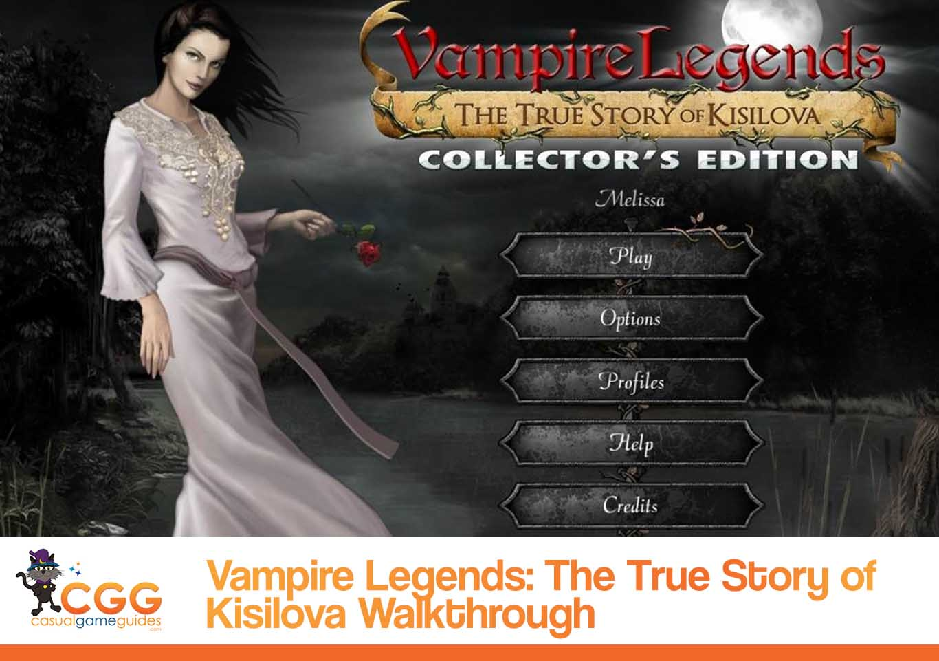 Vampire Legend Walkthrough