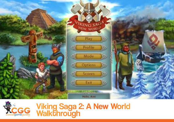 Viking Saga 2 Walkthrough