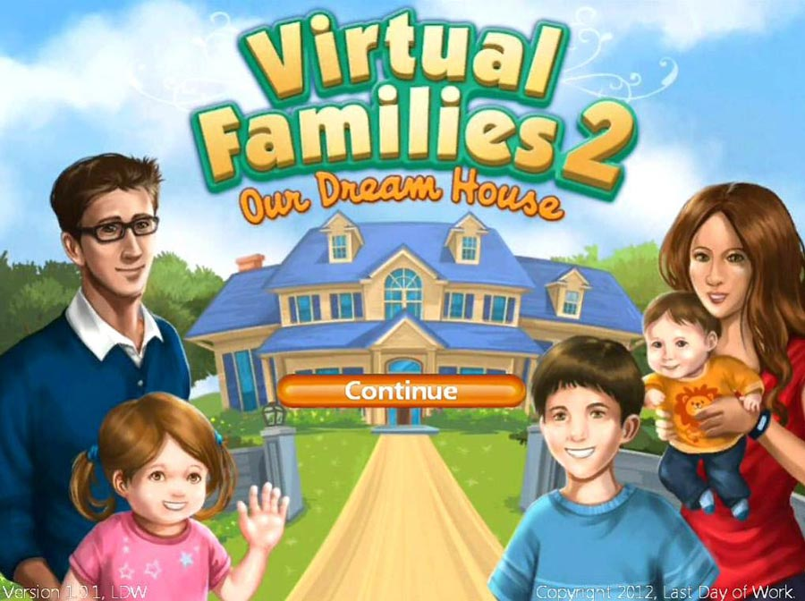 Virtual Families 2: Our Dream House Walkthrough: Title Image