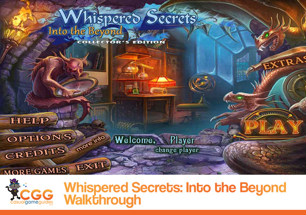 Whispered Secrets Into Beyond Walkthrough