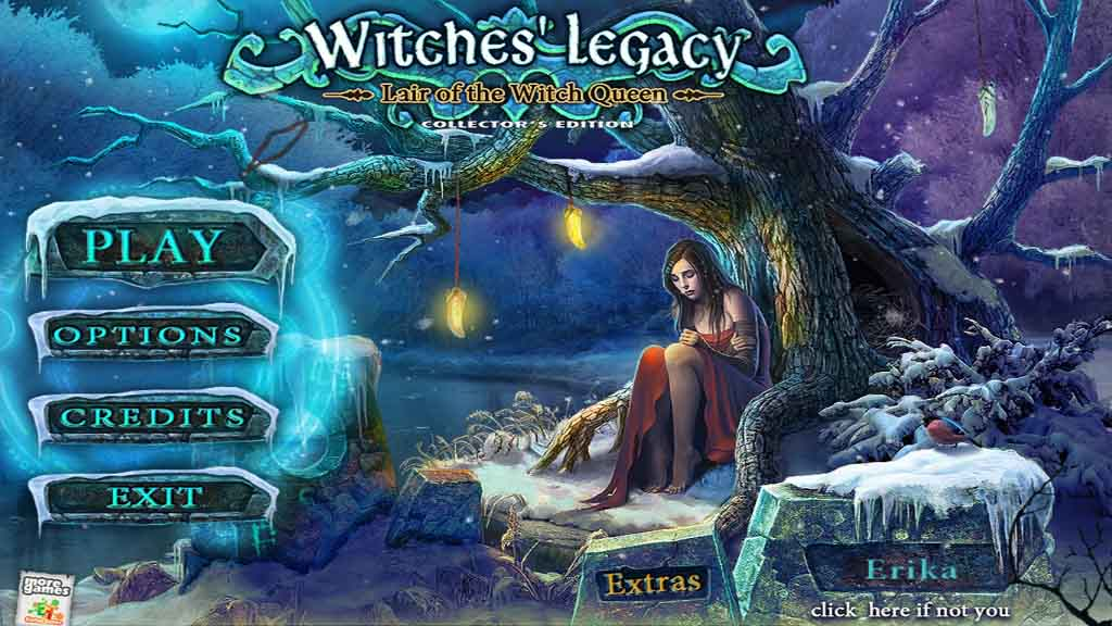 Witches' Legacy: Lair of the Witch Queen Walkthrough: Title Screen
