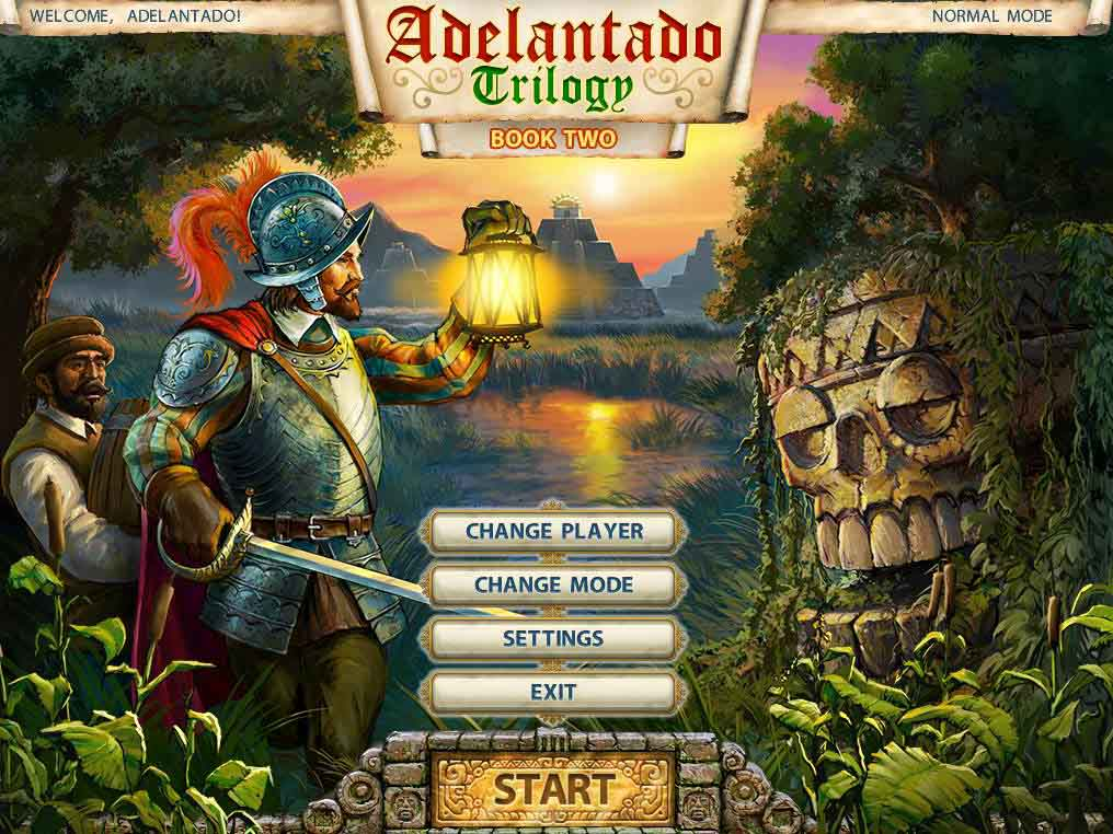 Adelantado Trilogy: Book Two Walkthrough: Adelantado Title