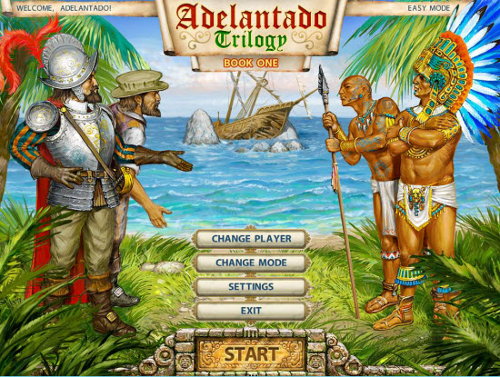 Adelantado Trilogy Book One Walkthrough - Title