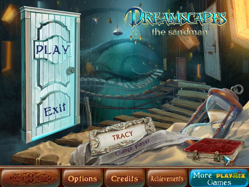 Dreamscapes: The Sandman Walkthrough: Title Screen