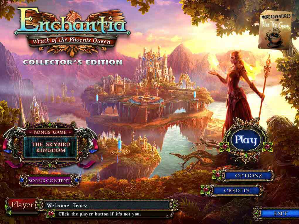 Enchantia: Wrath of the Phoenix Queen Walkthrough: Title Image
