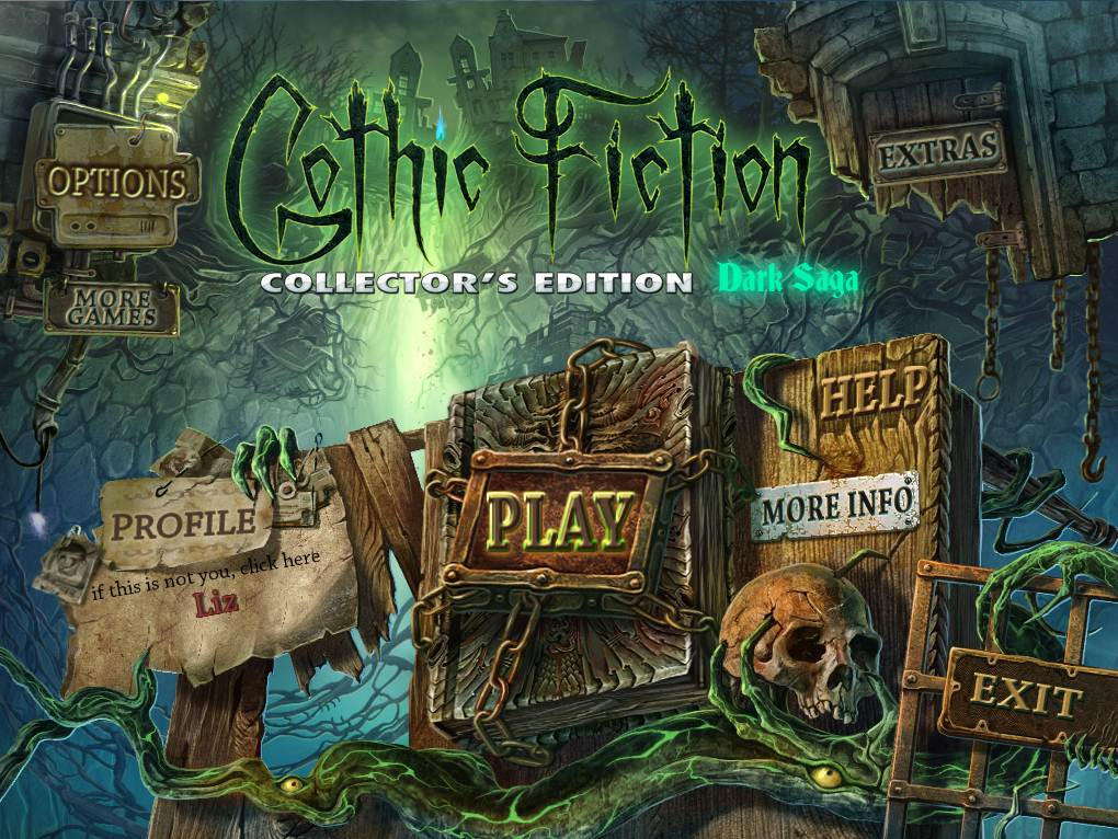 Gothic Fiction Dark Saga Walkthrough Title
