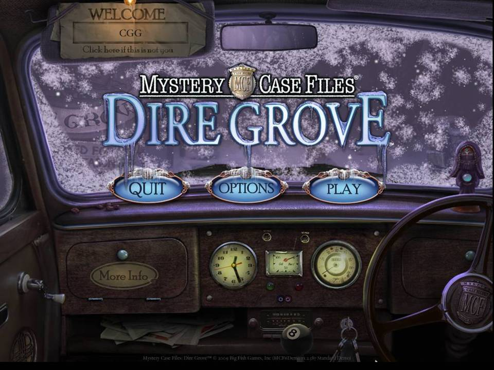 Mystery Case Files Dire Grove Review Title