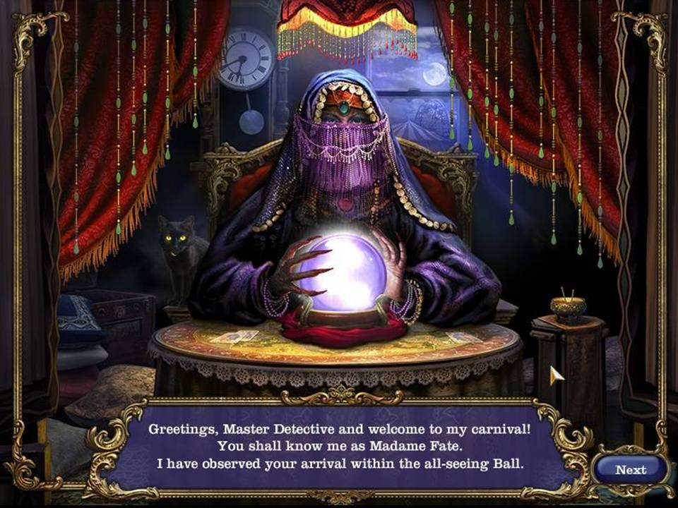 Mystery Case Files Madame Fate - Fortune Teller