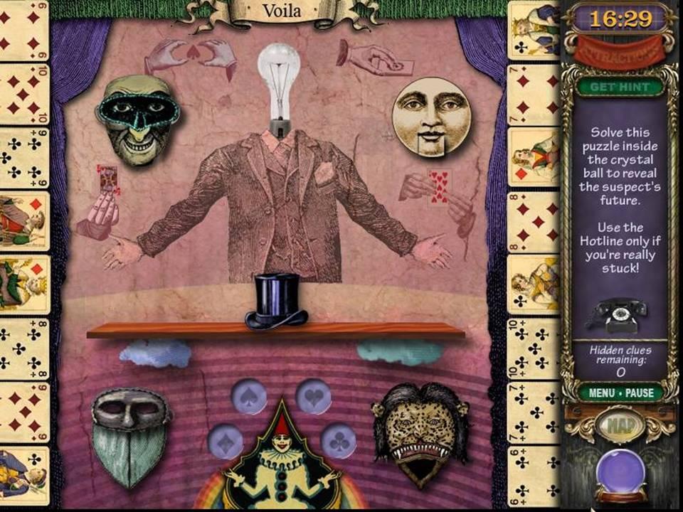 Mystery Case Files Madame Fate - Mini-game